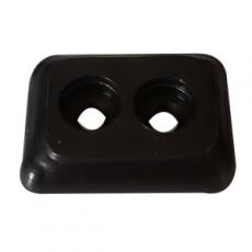 Base plastica 19X26 para pata de madera